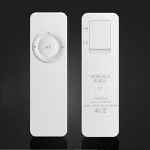 GERUIDA 16G MP3 Reproductor de Música Mini Walkman Lindo Correr Deporte Digital MP3 Player También U Disco Especial para Estudiantes