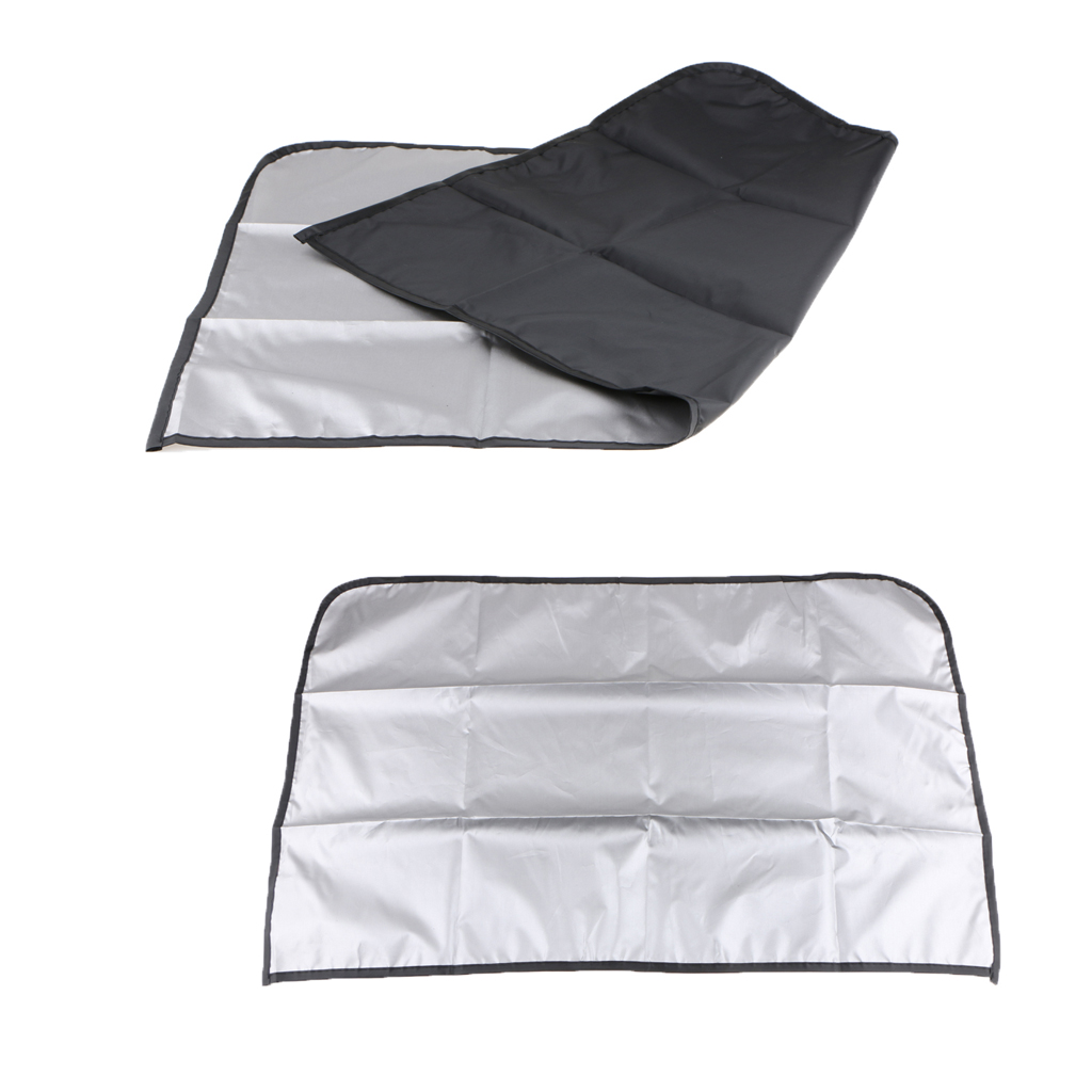 1 Pair Magnetic Sunshade Shield Curtains Double Sides Summer Sunshield For Car Side Windows in Side Window Sunshades from Automobiles Motorcycles