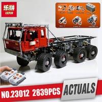 В наличии Лепин 23012 натуральная дизайн серии Аракава Moc эвакуатор Tatra Legoinglys 813 образовательные строительные блоки Кирпич