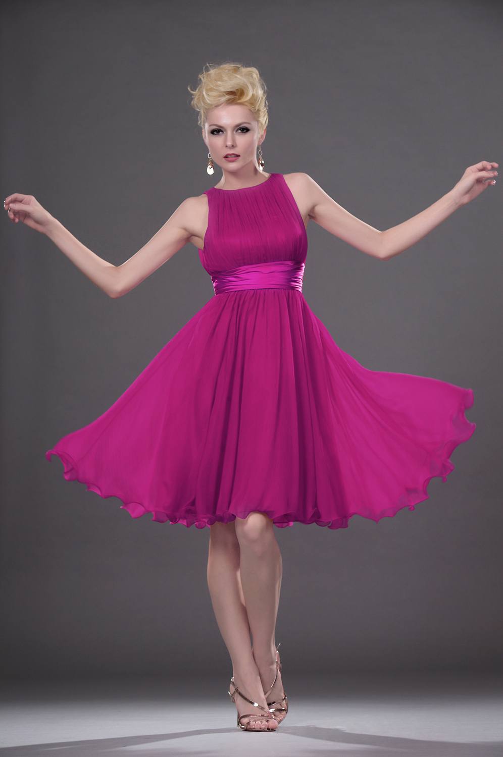 Fuschia Bridesmaid Dresses