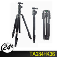 Hot Professional Aluminum tripod Portable Photographic Travel Compact Tripod +ball head & Monopod For DSLR and SLR Camera Stand
