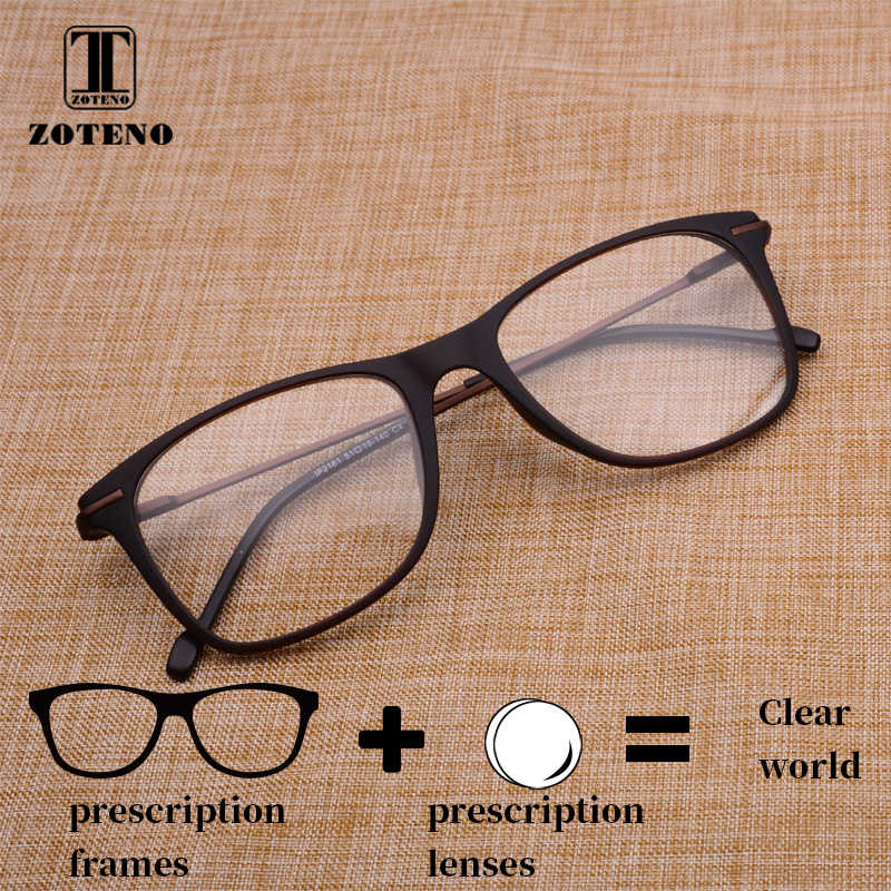 310b485907c Men Glass Prescription Eyewear Designer Vintage Retro Transparent Optical  Myopia Computer Prescription Spectacles For Men