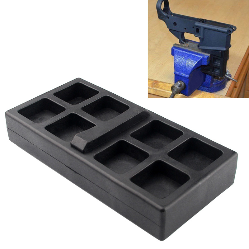 Pottery & Glass Outdoor Tool 223 5.56 Gun Smith Tool Vise Block For Clamping Ar15 Rifle Lower Receiver For Airsoft Hunting Accessories Warm And Windproof