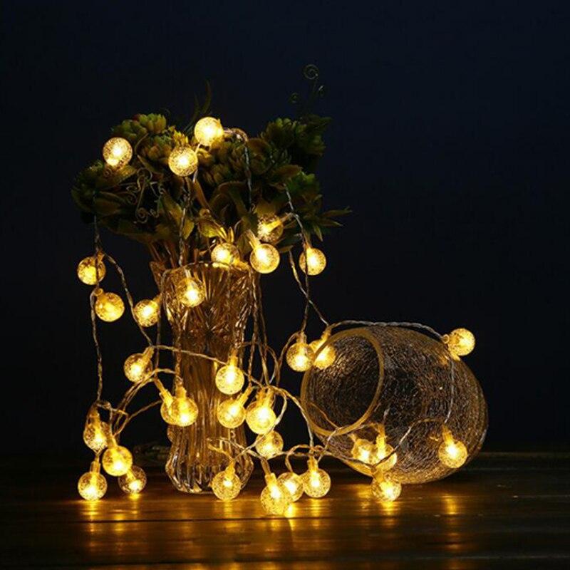 Reject Shop Christmas Solar Lights: Solar Light Bulb/Outdoor/Garden Waterproof Light String