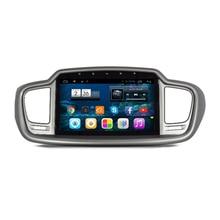 """10.1 """"Android 4.2.2 1024*600 Radio de Coche DVD GPS de Navegación Multimedia Central para Kia Sorento 2015 Mirrorlink 3G WIFI OBDII"""
