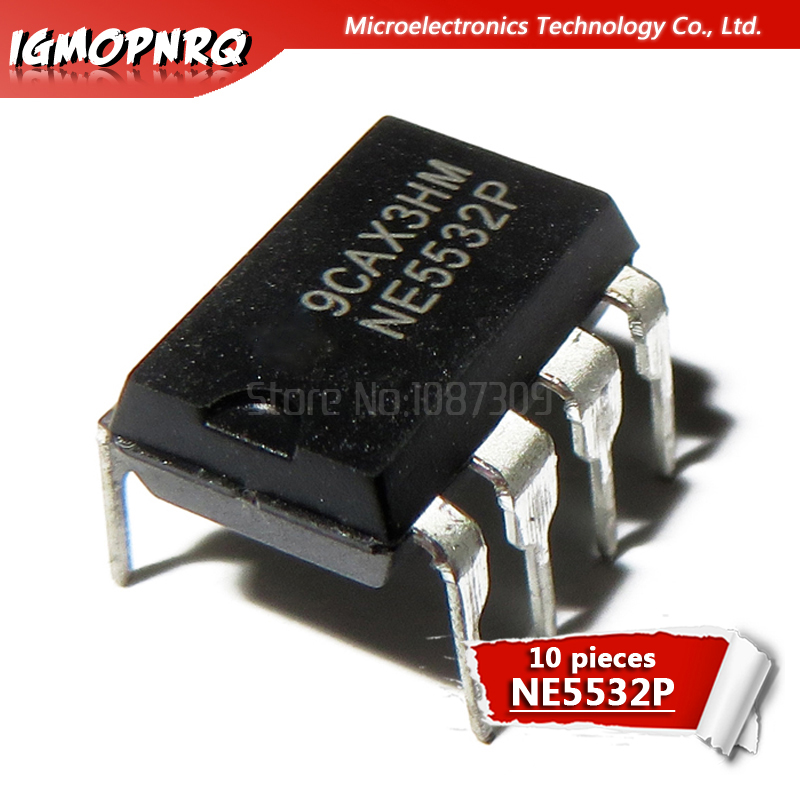 10pcs NE5532P NE5532 DIP New Original