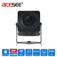 Acesee Sony IMX290 2MP Mini WIFI IP Camera POE 1080P Wireless2 8mm Lens Cameras 2 Way