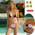 Erótico Conjunto Cinta Invisible Inconsútil de Las Mujeres Sexy Bikini Diminuto traje de Baño Bikini Mini Micro Bikini Brasileño Tanga UD-088