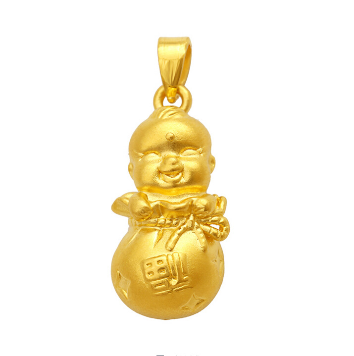Authentic 24K Yellow Gold Pendant 3D Baby Bag Pendant 2.47gAuthentic 24K Yellow Gold Pendant 3D Baby Bag Pendant 2.47g