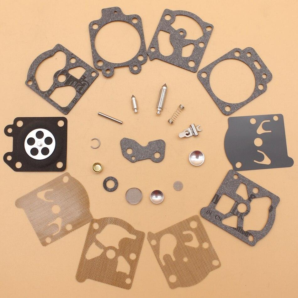 2Pcs/lot Carburetor Repair Rebuild Kit For Walbro K20-WAT K20-WAT K20-WT K20-WTA H20-WT Carb Series