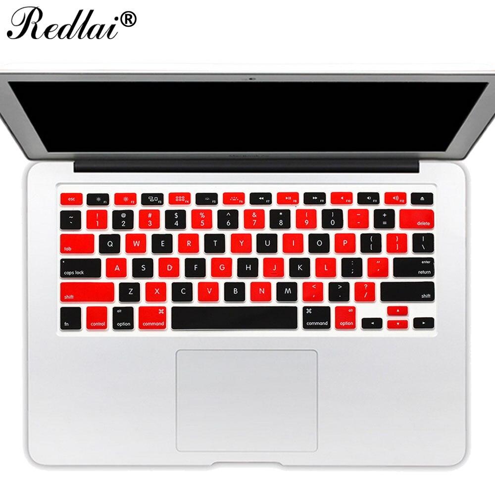 ▽Ee.uu. inglés colorido mosaico suave silicona teclado cubierta ...