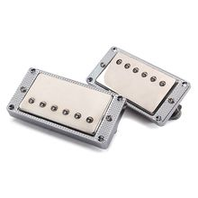 купить 2pcs/set Guitar Humbucker Pickup Dual Coil for LP Electric Guitar with Mounting Screws недорого