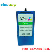 1 pièces Pour Lexmark 37 37XL Cartouches D'encre 18C2180 Pour Lexmark Z2420 X3630 X3650 X4630 X4650 X5650 X5650es X6650 X6675