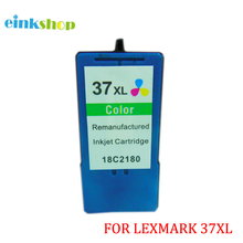 High Yield 37XL Tri-Color Ink Cartridge Inkjet 515 Page For Lexmark 37 XL 18C2180 For Lexmark Z2420 X3630 X3650 X4650 X5650 mymei белый цвет xl page 10