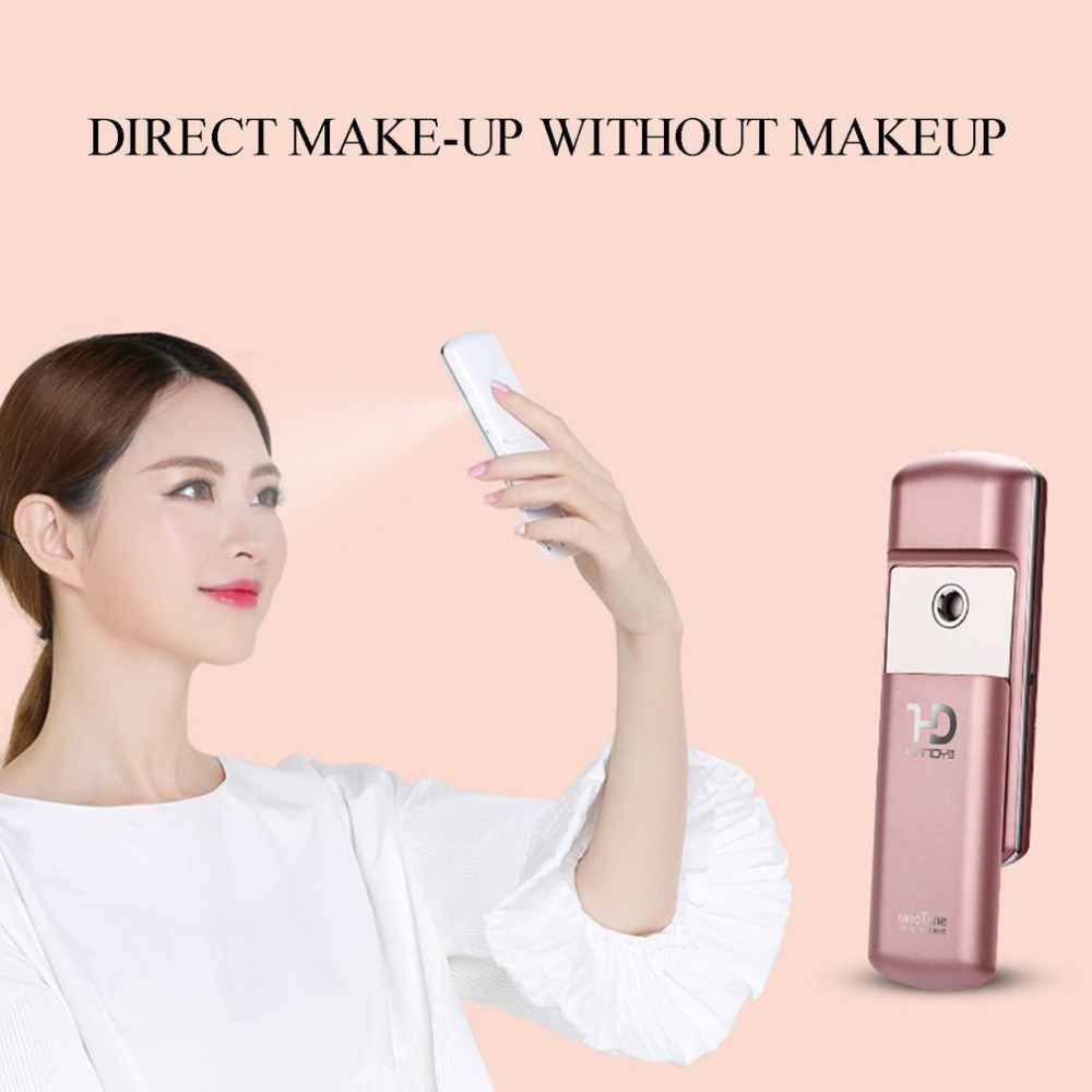 F72 handy 2s Portable Nano Face Mist Sprayer Handy Skin Facial Mist Steamer USB Rechargeable Moisturizing Beauty Device the best usb rechargeable nano ion hydro spa handy mist sprayer facial mister steamer deep moisturizing personal humidifier