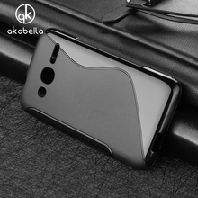 AKABEILA Cases For alcatel OneTouch Pixi 4 4.0 inch Cover OT4034 dual-SIM 4034D 4034E Cell Phone Bag Black Soft TPU Silicon Skin
