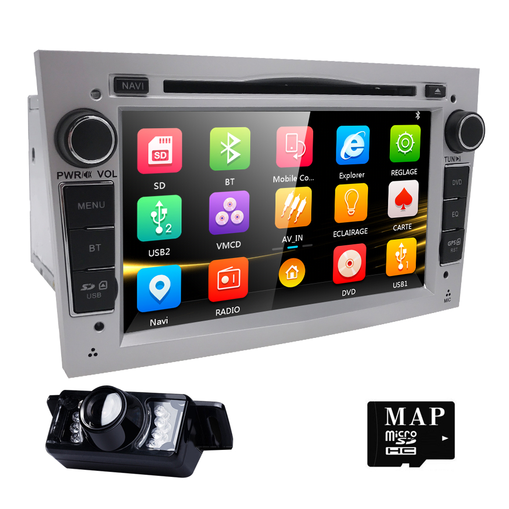 7 HD Touch Screen font b Car b font DVD Player GPS Navigation System For Opel