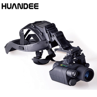 Green Tube Super Gen 1 3X44 Infrared night vision monocular Night Scope Goggles night vision Monocular with Helmet
