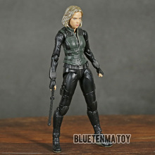 Marvel Avengers Infinity War Black Widow SHF  PVC Action Figure Collectible Model Kids Toys Doll