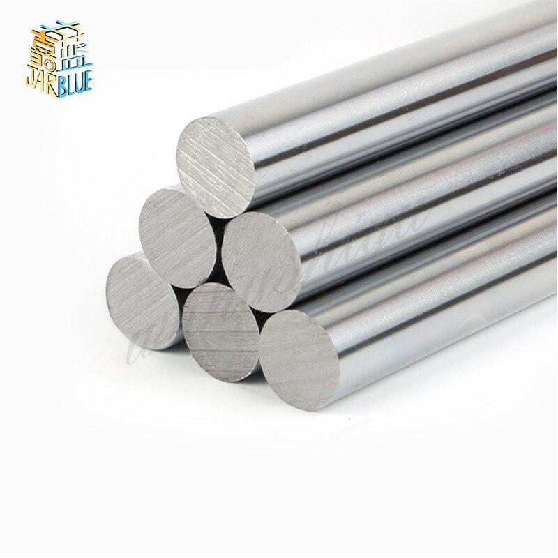 1 Pc 6 Millimetri 8 Millimetri 10 Mm 12 Mm 16 Millimetri Od Lineare Albero di Lunghezza 100-800 Millimetri cilindro Liner Ferroviarie per 3D Stampante Assi Cnc Parti