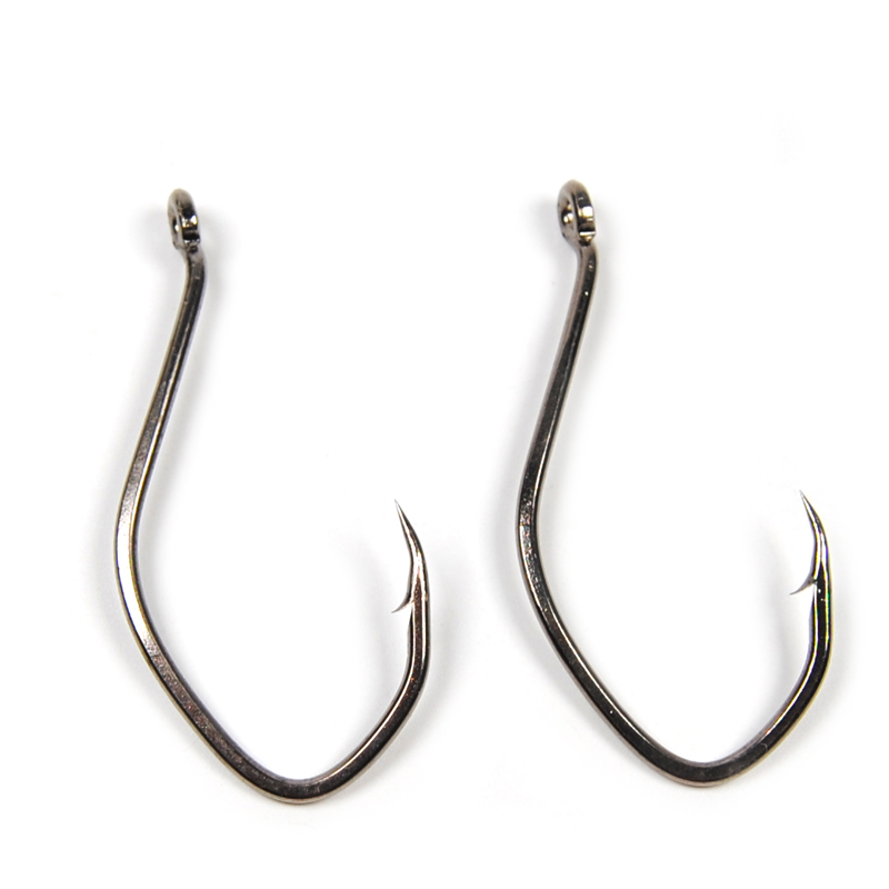 20pcs high carbon steel catfish hook barbed sea fishing for Wholesale fishing hooks