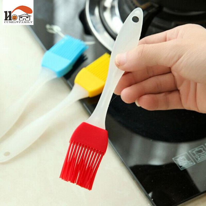 1pcs High Temperature Resistant Silicone Professional outdoor Barbecue BBQ Cooking Tools seasoning sauces condiments Oil brush
