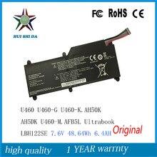 7.6 В 48.64WH Новые Оригинальные Аккумулятор для Ноутбука LG U460 U460-G U460-K.AH50K AH5DK U460-M.AFB5L Ultrabook LBH122SE