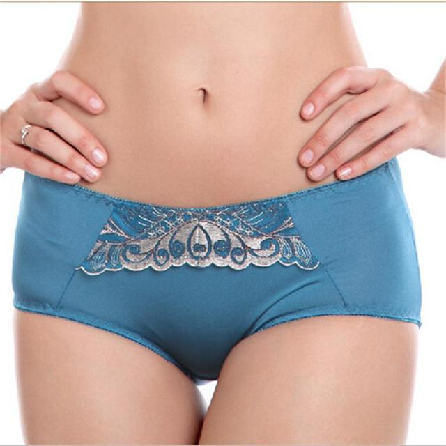 2015 New Fashionembrodiery Women Lady Underwear Panty Beautiful Fully Showing Your Charms To Your Man With