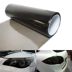 Image 2 - 2019 TPU Film de Protection pour phares feux arrière fumée antibrouillard Film voiture lumière phare film feuille voiture autocollant lampe sombre stickers voiture