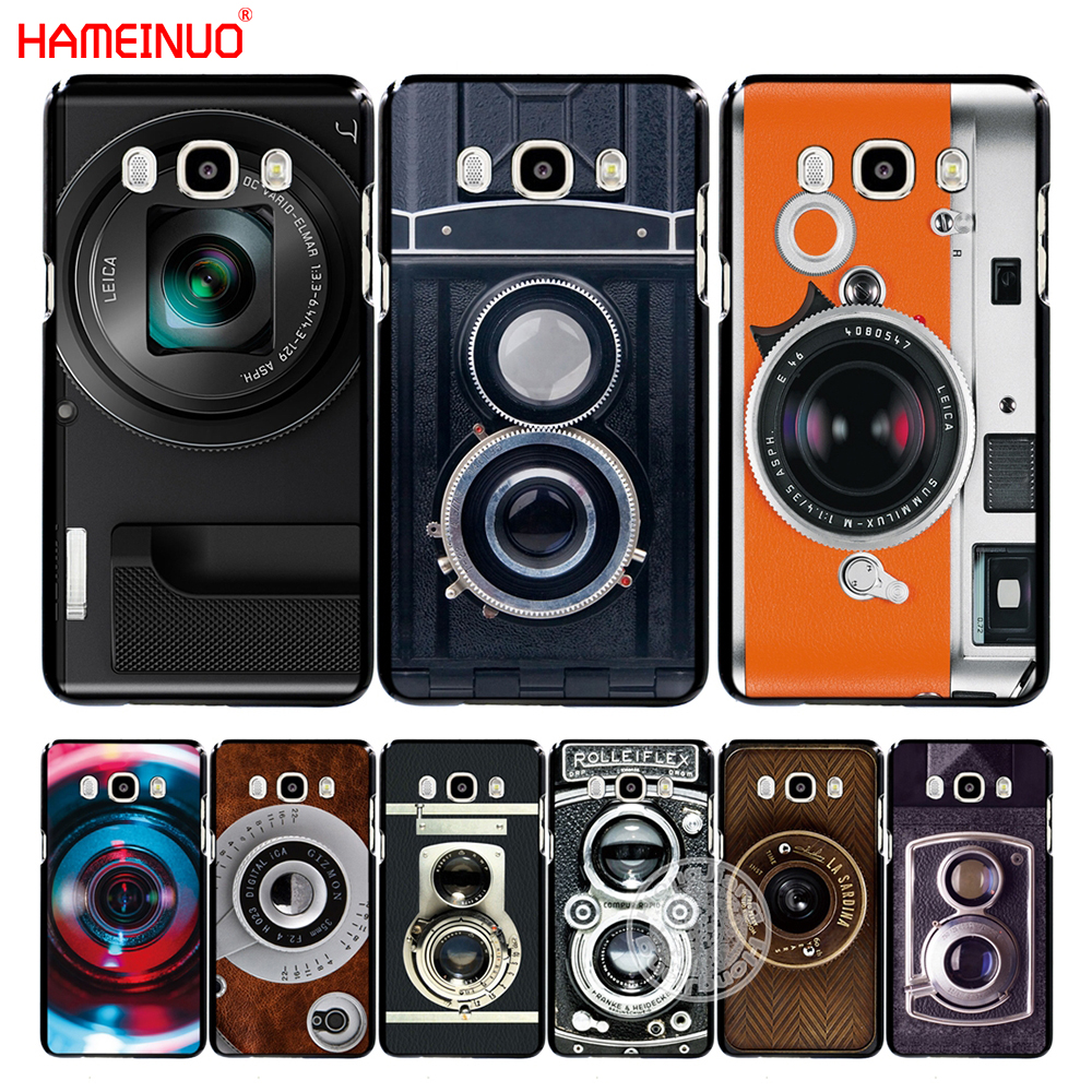 HAMEINUO Vintage Camera lens cover phone case for Samsung Galaxy J1 J2 J3 J5 J7 MINI ACE 2016 2015