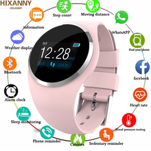 2019 Upgrade Fashion Smart Watch HR Blood Pressure Monitor Women Physiological Reminder Smartwatch For Android IOS