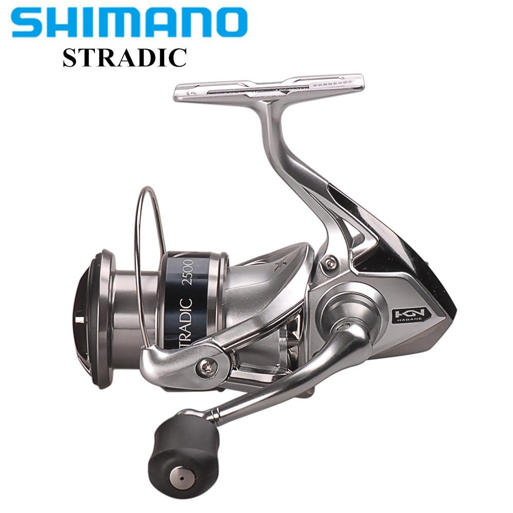 100 Original SHIMANO STRADIC FK2500HG C3000HG 4000XG C5000XG 6 0 1 6 2 1 Spinning Fishing