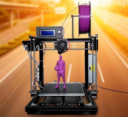 3D printer DIY I3 kit aluminum frame three-dimensional desktop printer