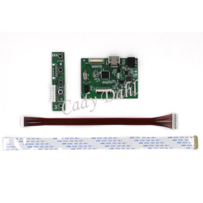 US $17 08 15% OFF|HDMI EDP LCD Controller Board DIY Kit for Raspberry Pi PC  Matrix Resolution 1366x768 EDP Signal 30P 30Pins LCD Panel Screen-in Demo