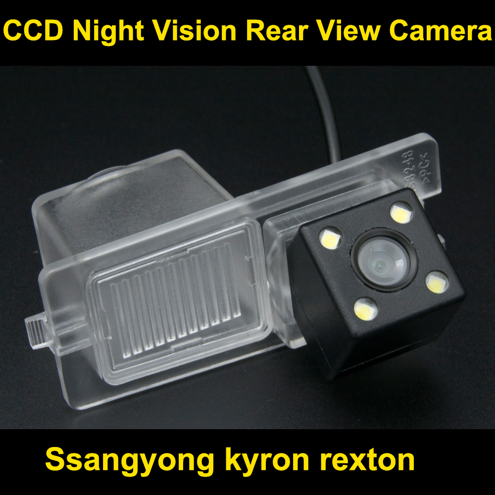 Car rearview camera for rexton CCD Night Vision BackUp Reverse Parking Camera
