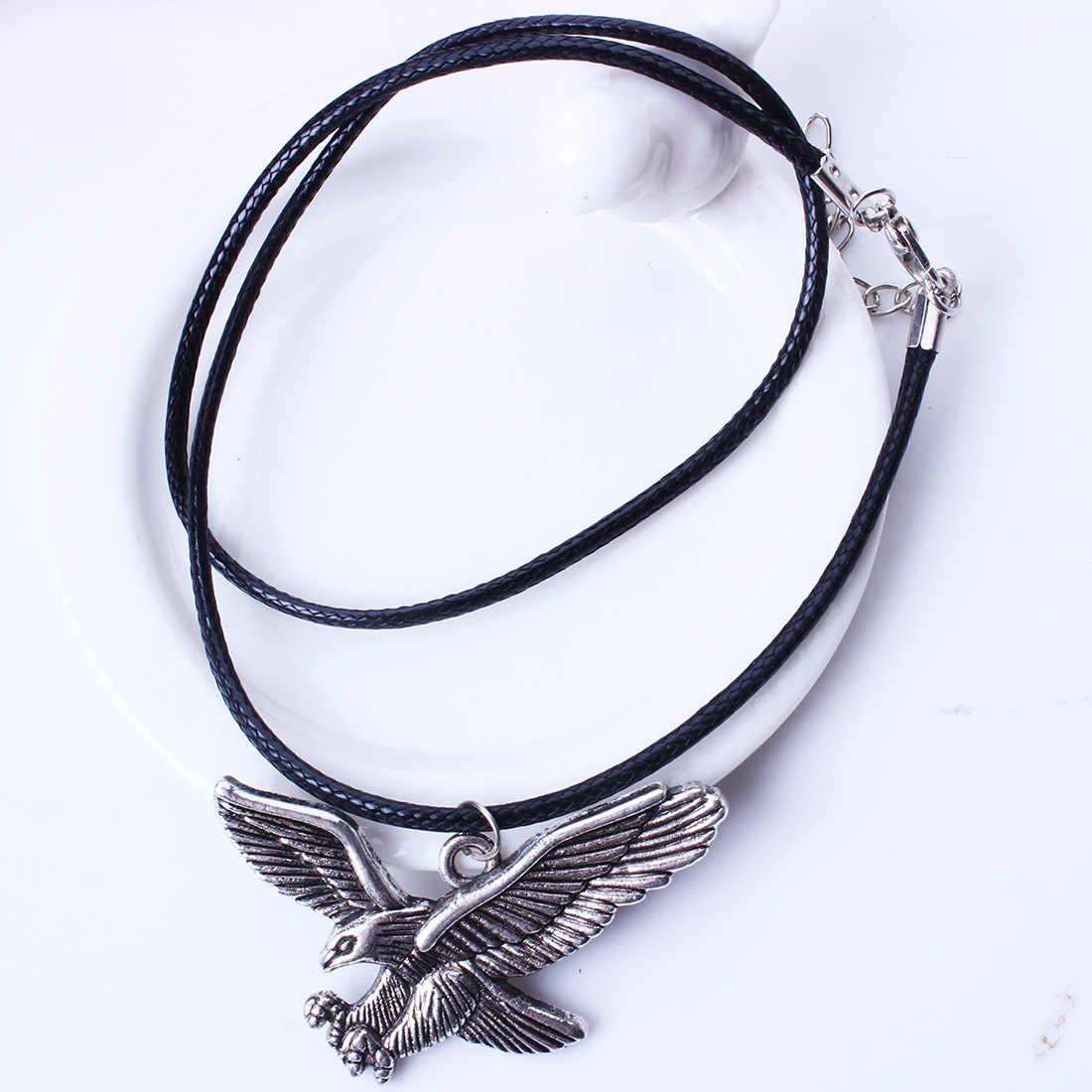 鷲の翼亀ファッション要素 Feminino 革鎖骨チェーンネックレス & ペンダント女性の女性ステートメントネックレス