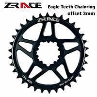ZRACE 10s 11s 12s roue de chaîne de vélo, CNC AL 7075 offset 3 mm 32T 34T 36T vtt chaîne de vélo de route pour manivelle à montage Direct SRAM
