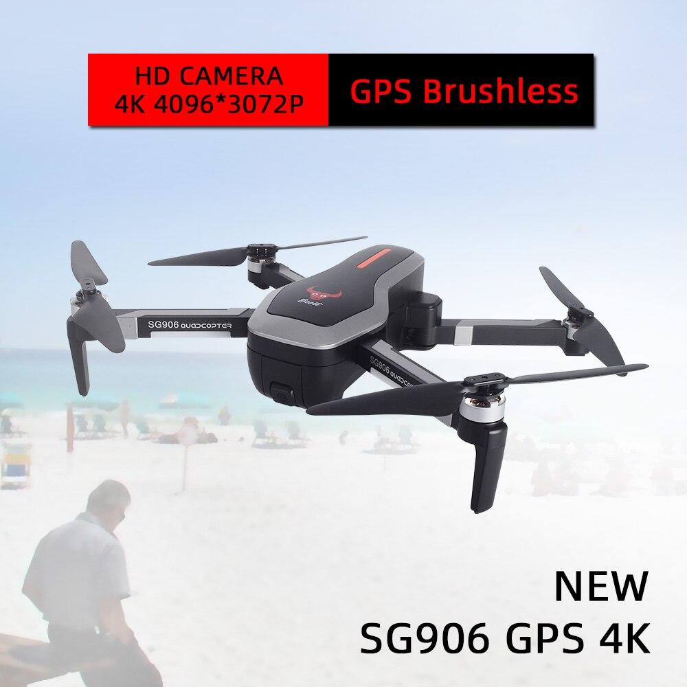 Nouveaux drones dron avec caméra hd RC drone gps rc hélicoptère quadrirotor 4 K professionnel drohne jouets profesionales selfie sans brosse