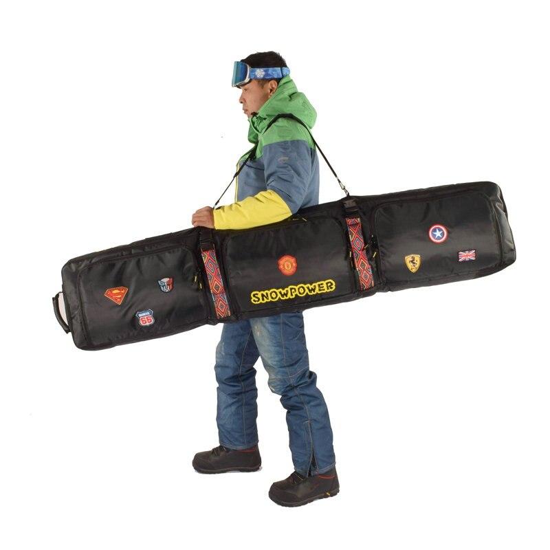 2019 nouveau sac de Ski 146 cm 156 cm 166 cm 180 cm sac de Snowboard homme femmes Sports de plein air sac à dos sac à bandoulière unique sac de Ski - 5