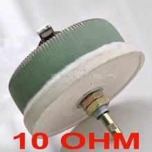 (10 шт./лот) 100 Вт 10 Ом высокомощный проволочный потенциометр, реостат, переменный резистор, 100 Вт.