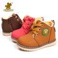 Modelos de explosión de la moda botas de los niños clásicos de otoño invierno zapatos caliente botas de nieve para niños niñas del cabrito tamaño 21-30