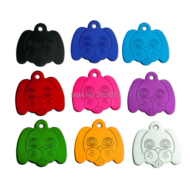 4d77e5cc9f9f KIYUE 100pcs Identity Tags Dog Face Personalized Dog ID Tags Customized Cat  Puppy Name Phone No. Pet ID Tags Dog Cat Name Phone