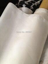 Супер предложение 12 Momme натуральный белый Шелковый материал мягкая подкладка Habutai 100% шелк тутового шелкопряда Habotai