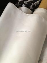 Süper anlaşma 12 Momme doğal beyaz ipek malzeme yumuşak Habutai astar % 100% dut ipek kumaş Habotai