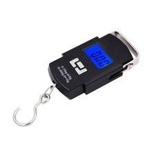 hot sales Electronic Digital Handing Pocket 50kg 10g Portable Luggage Finishing kitchen scale with backlight 11