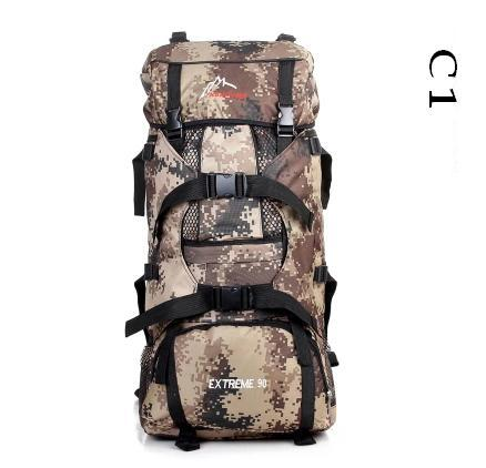 LEMOCHIC 80L new military camouflage font b tactical b font outdoor climbing mountaineering spots bag travel