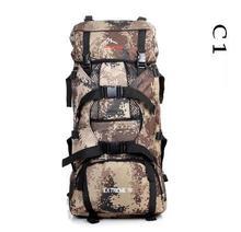 80L LEMOCHIC nuevas manchas de camuflaje militar táctico montañismo escalada al aire libre bolsa de viaje bolsa de Viaje de Camping senderismo mochila