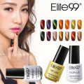 Elite99 1pcs 7ml 3D Cat Eye Magnetic Nail Gel Polish Semi Pernament Polish UV/LED Soak Off Cat's Eye Gel Varnish
