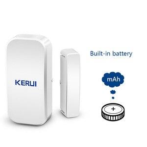 Image 5 - Kerui D025 ワイヤレスドア/窓センサー検出器 kerui wifi gsm 警報システムホームセキュリティ buglar 警報 433 mhz ドアセンサー