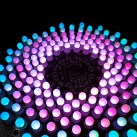 1 Set DIY Electronic For Aurora Kit RGB LED Flashing Kit